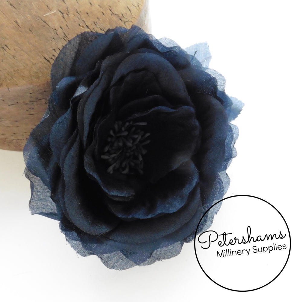'Chloe' Silk 11cm Rose Millinery Flower