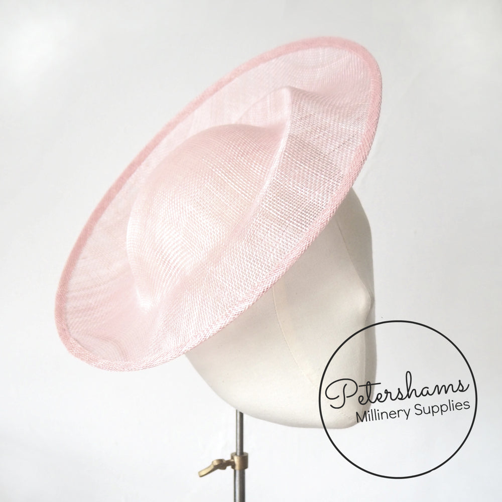 'Cindy' Sinamay Orbital Pleat Fascinator Hat Base