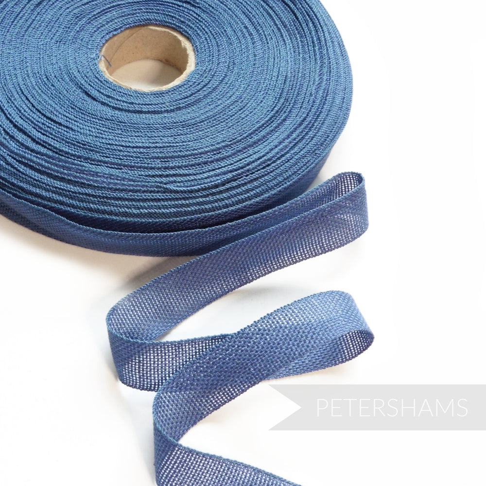 16mm Open Grid Weave Cotton Tape Ribbon