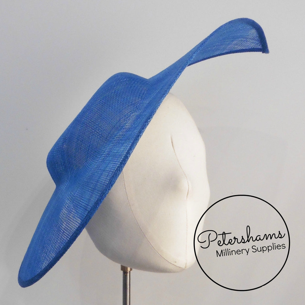 Extra Large Pointed Tip Sinamay Fascinator Hat Base