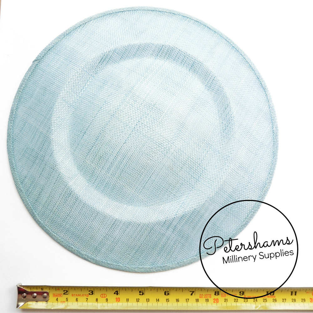 Extra Large 29cm Round Saucer / Plate Sinamay Fascinator Hat Base