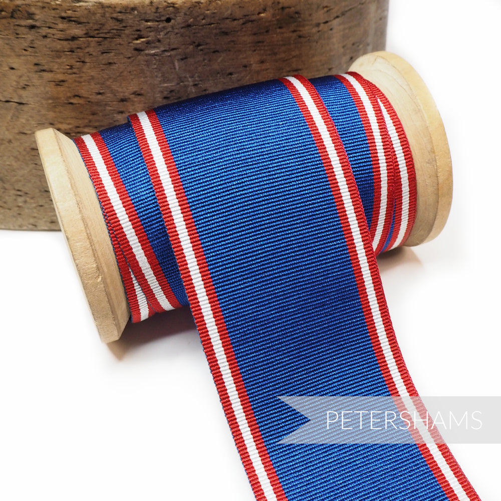 44mm Striped Grosgrain Ribbon