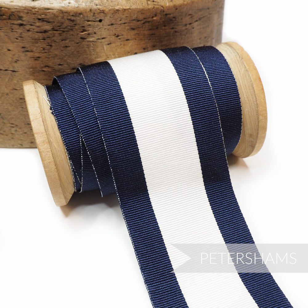 45mm Striped Grosgrain Ribbon