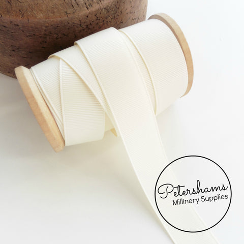 22mm Polyester Grosgrain Ribbon - 1m