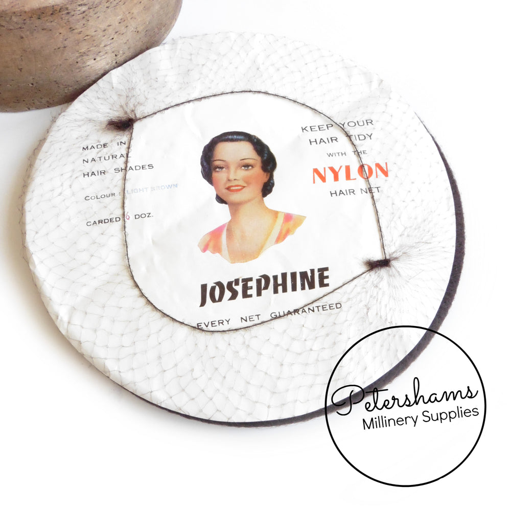 Vintage 1940s Nylon Carded Hair Nets