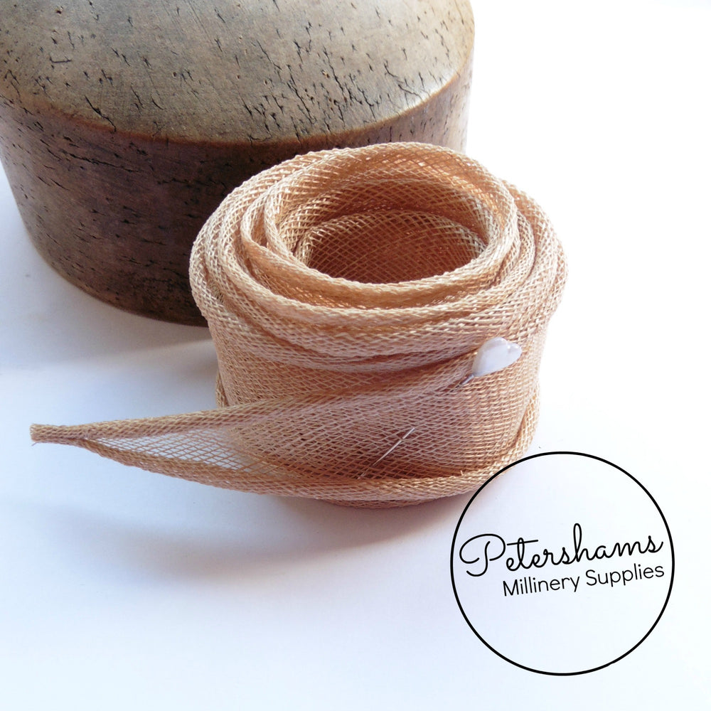a3d99859 Hand Rolled Sinamay Ribbon Trim – Petershams Millinery Supplies