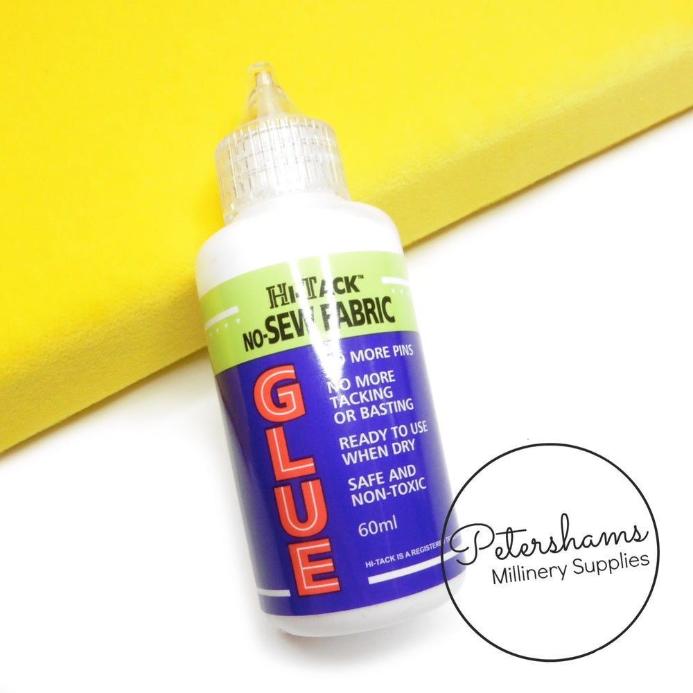 No-Sew Hi-Tack Fabric Glue - 60ml