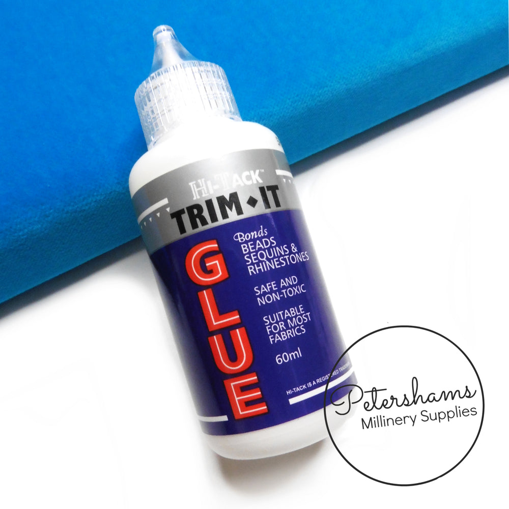 Trim-It Hi-Tack Glue for Beads, Sequins & Diamante - 60ml