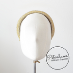 Vintage 1970s Padded Metallic Headband