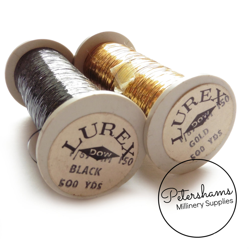 Vintage Lurex Thread Spool 457m (500 yrds)