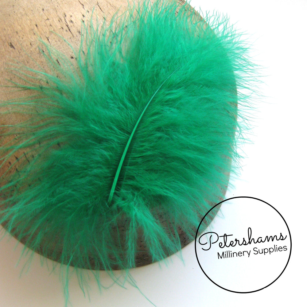 20 Fluffy Marabou Feathers