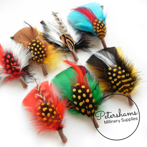 Mens Feather Hat Mounts