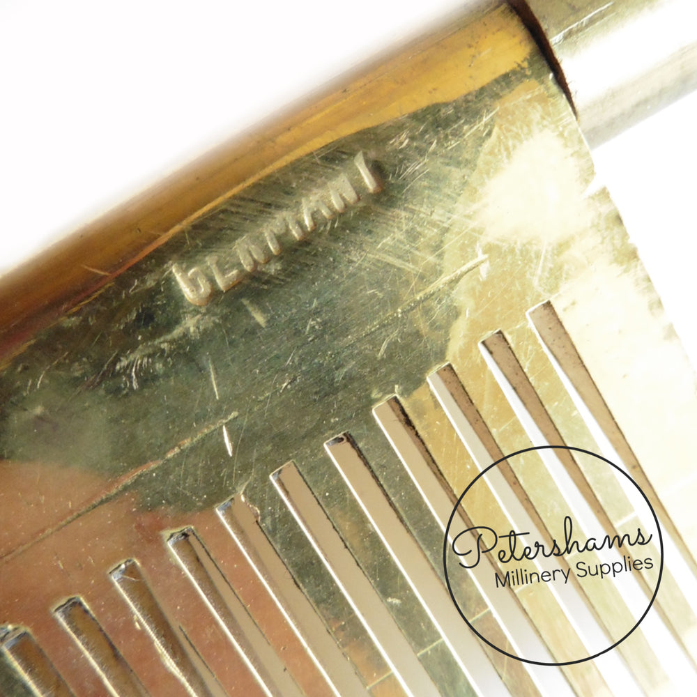Vintage 1940's Hair Straightener Iron Comb