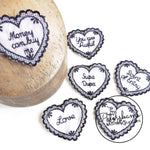 Naughty Love Heart Motifs