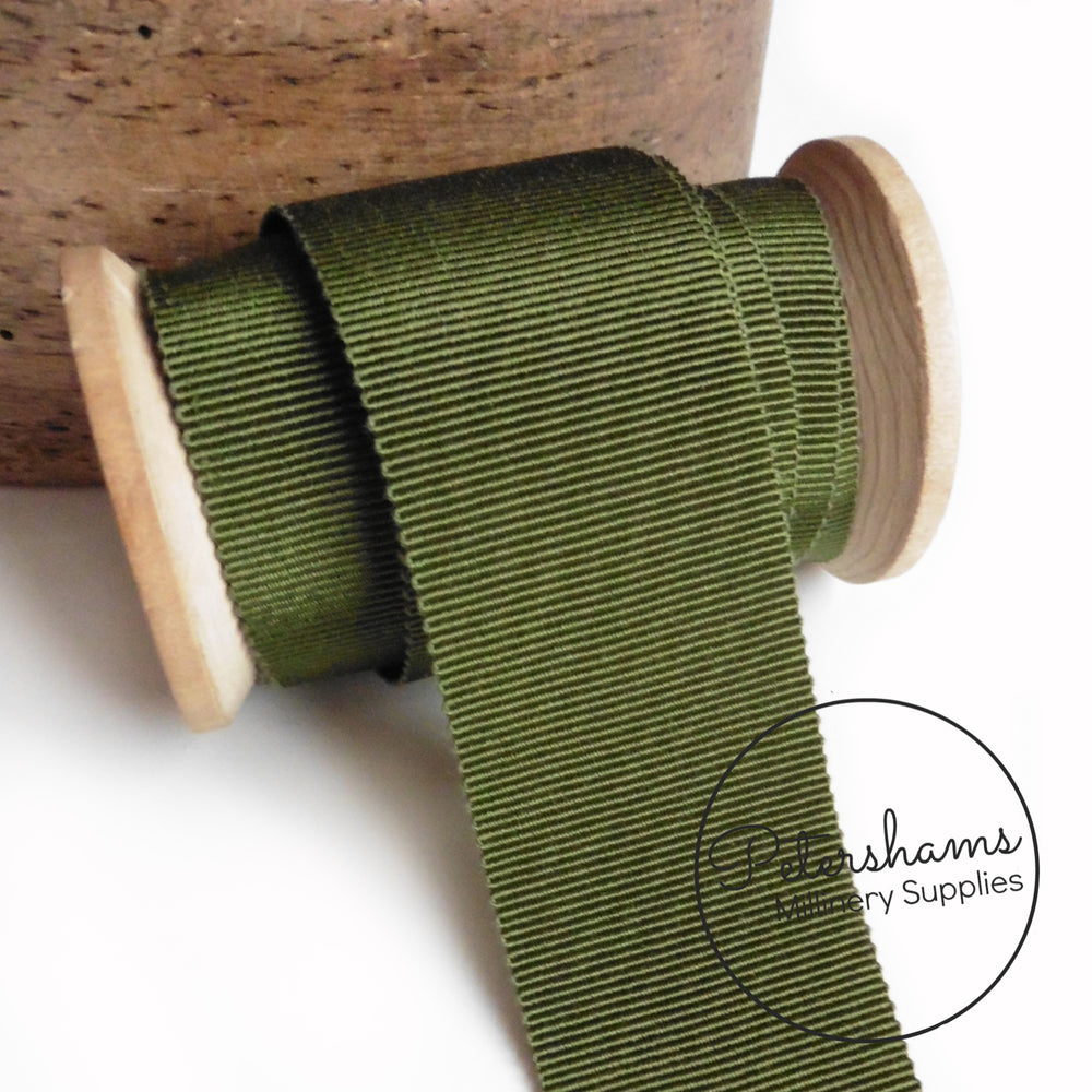 40mm No.10 French Millinery Petersham Hat Ribbon