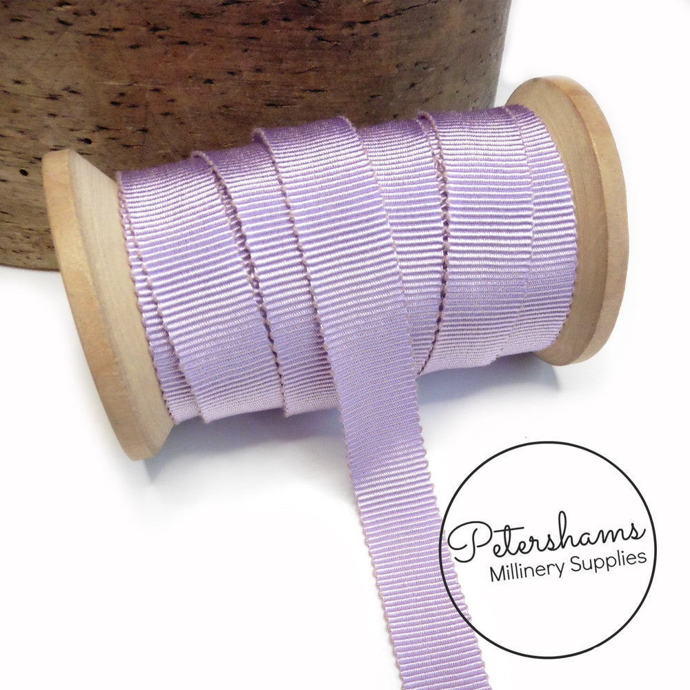 15mm No.3 French Millinery Petersham Hat Ribbon