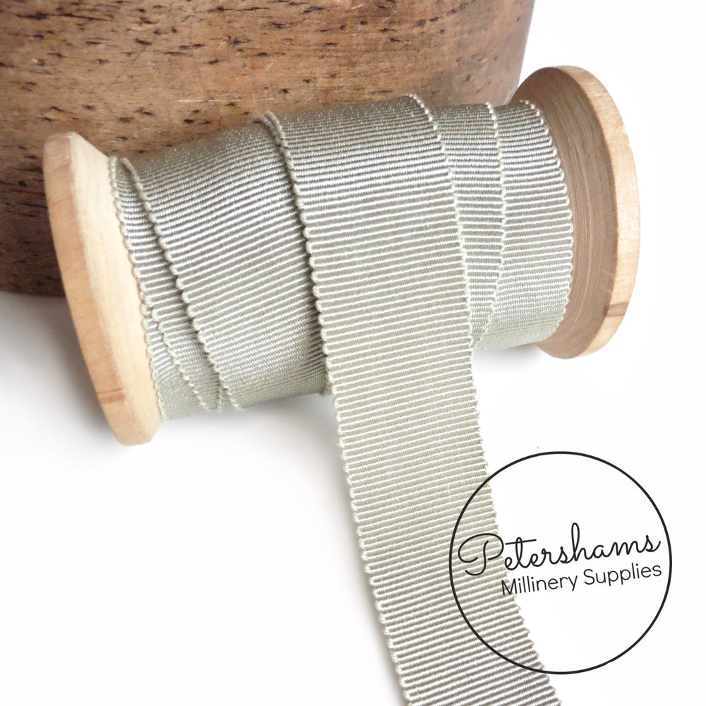 25mm No.5 French Millinery Petersham Hat Ribbon