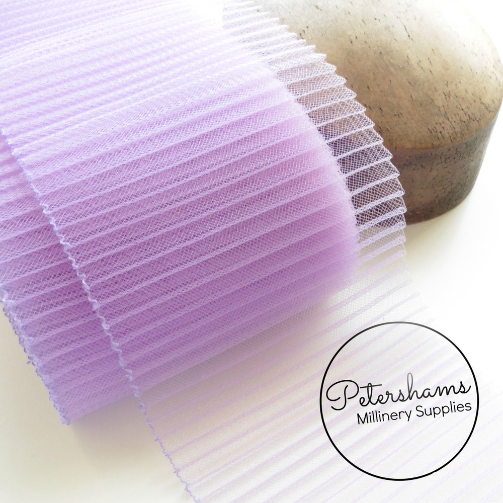 15cm (6 inch) Wide Pleated Crinoline - 1m