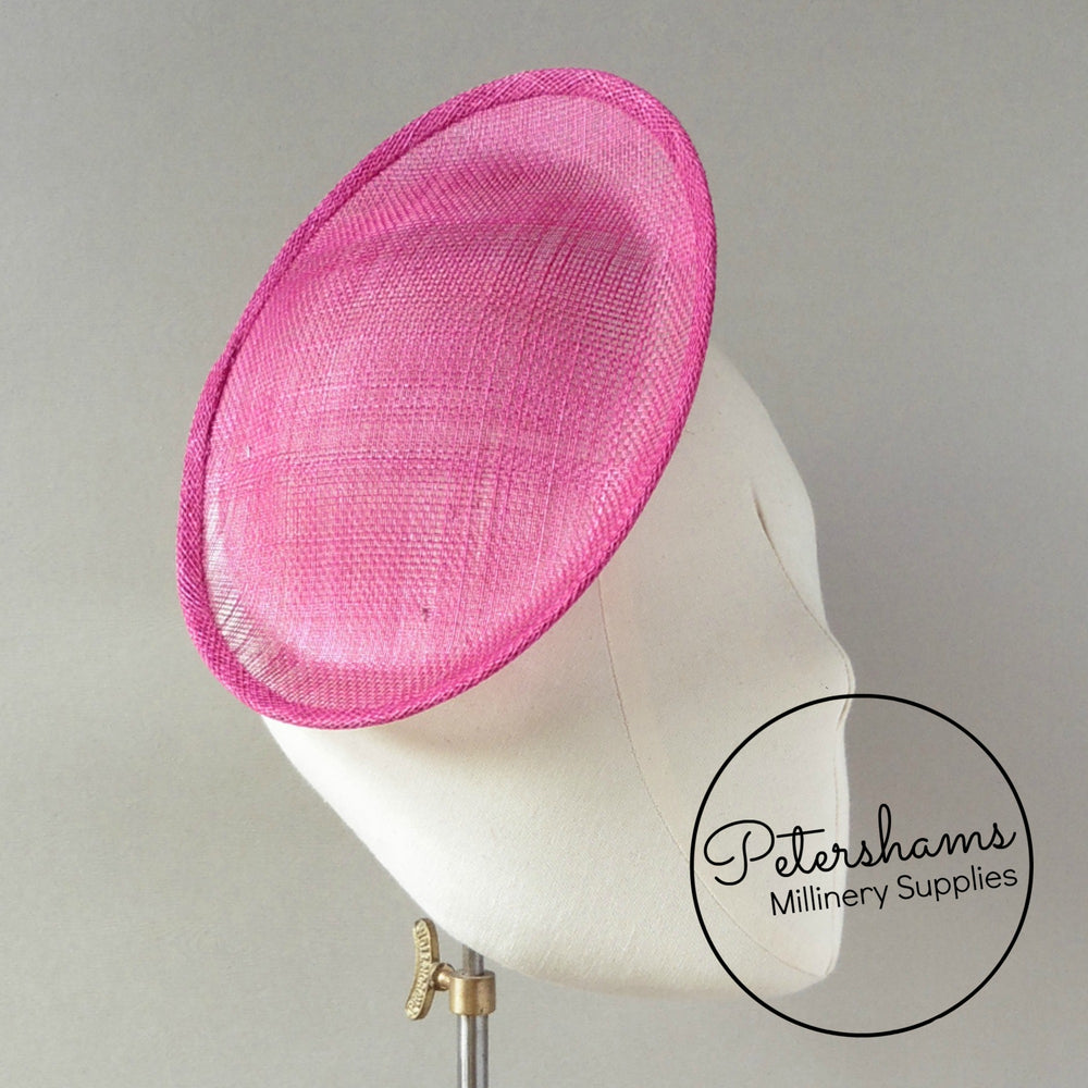 Oval Scallop Sinamay Fascinator Hat Base