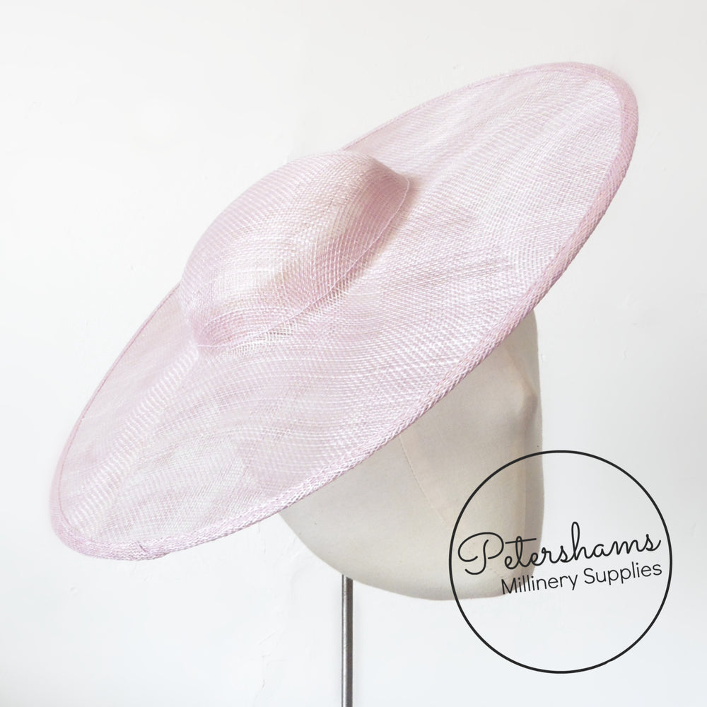 Cartwheel Sinamay Fascinator Hat Base