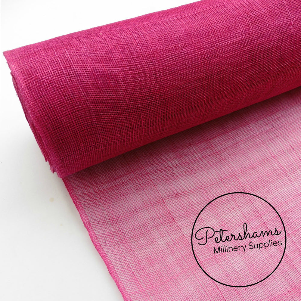 Sinamay Fabric Plain Colours - 1/2 metre
