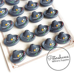 Vintage 1940s/50s Bavarian Hat Buttons