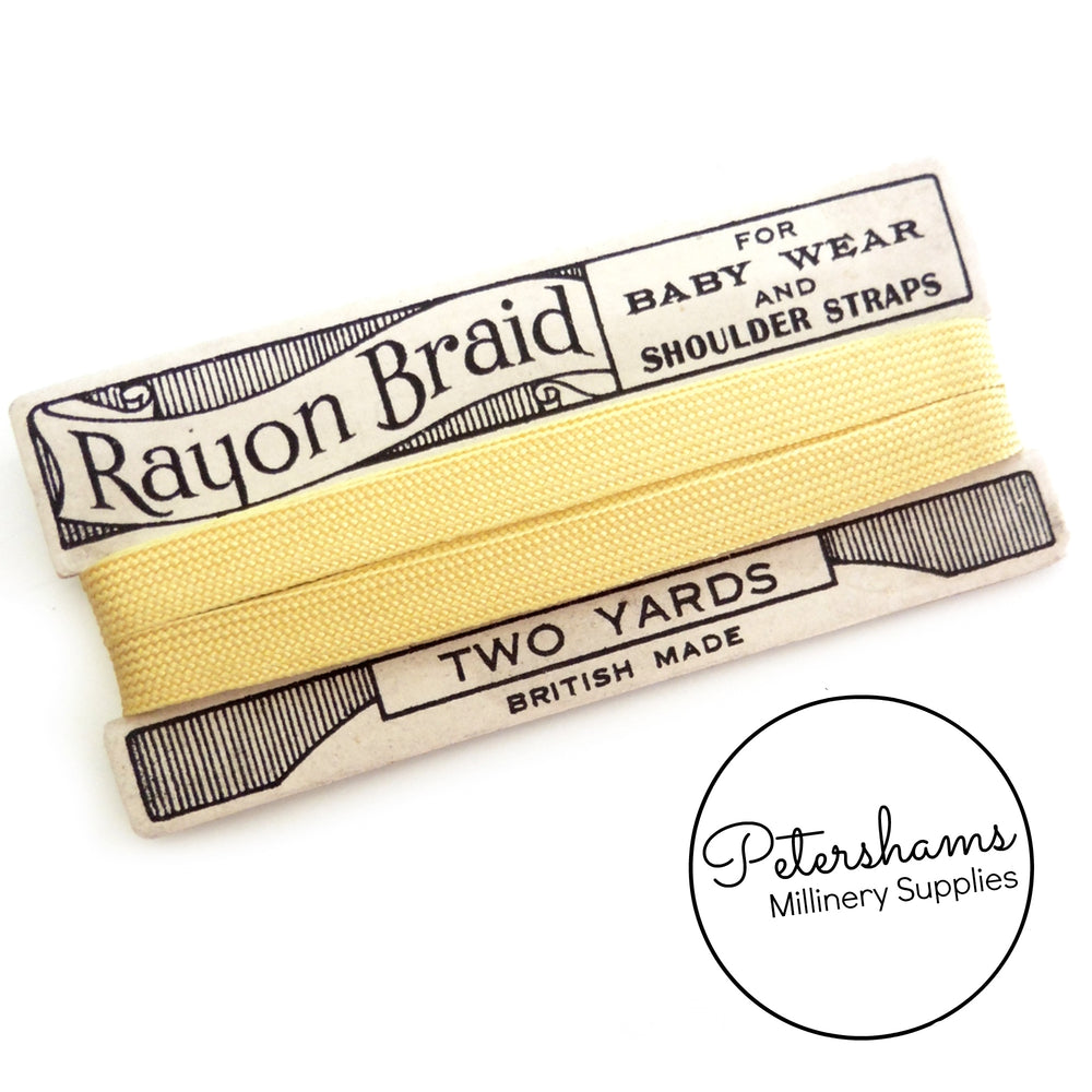 Vintage 1950s Rayon Ribbon on Card