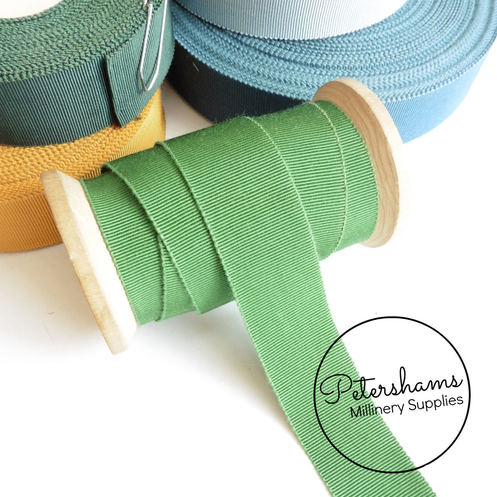 Vintage 25mm No.5 Millinery Petersham Hat Ribbon