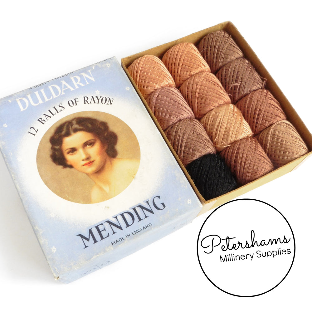 Duldarn Vintage 1950's Hose Mending Thread Set