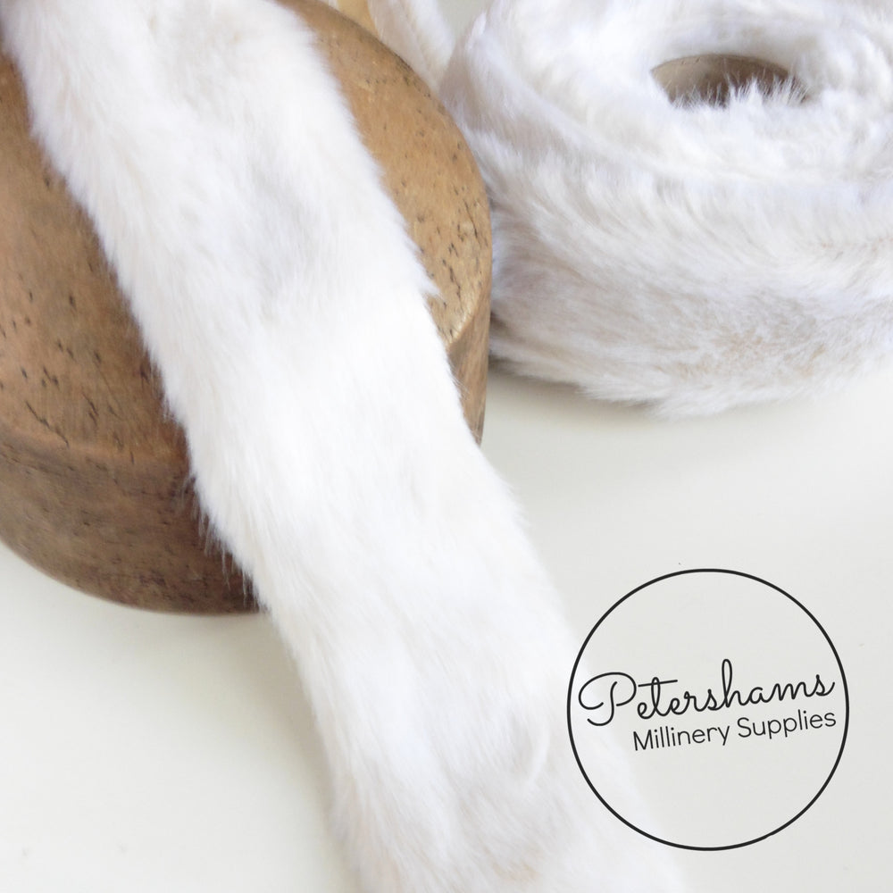 75mm Vintage 1950s Faux Fur Trim -1m