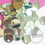 Vintage 1950s/60s Sequins - 20mm Circles