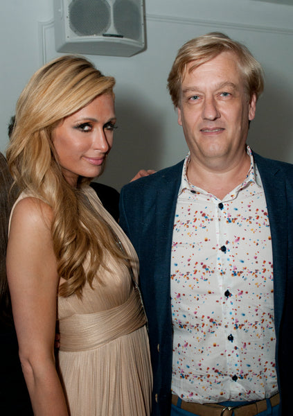 Paris Hilton & Tilmann Gruber, CEO T'zikal Beauty