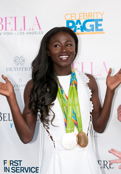 Torie Bowie, 2016 Rio Gold Medalist