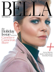 Bella LA Magazine Holiday Issue 2016 Candice Cameron Burr