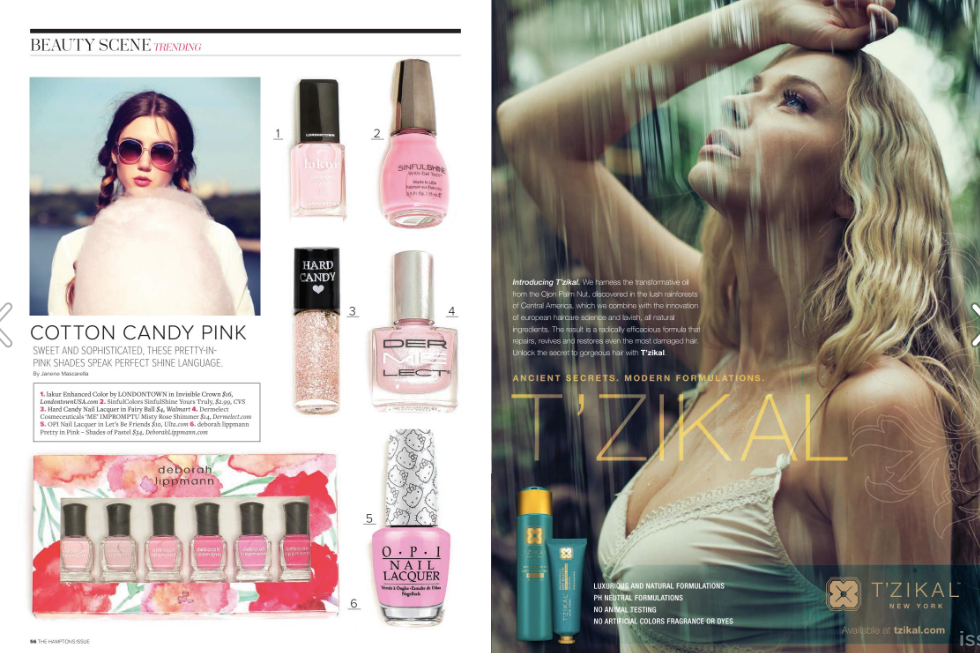 Bella NY Magazine Late Summer 2016 Issue, T'zikal Beauty