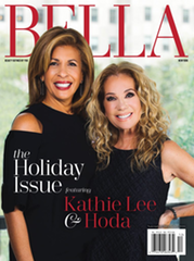 Bella NYC Magazine Holiday Issue Kathy Lee Gifford and Hoda Kobt