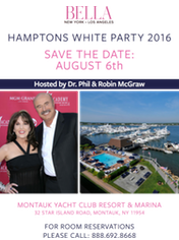Hamptons White Party Robin McGraw