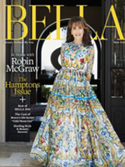 Bella Magazine Hamptons Issue Robin McGraw