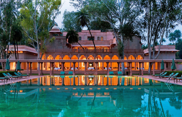 T'zikal Beauty: Secret Beauty Destination, Amanbagh, Rajasthan, India, All-natural Haircare with Ojon Oil