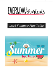 everydayshortcuts.com beauty & fashion summer fun guide