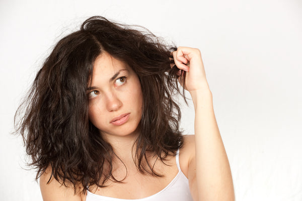 Common Hair Faux Pas - Too Much Dry Shampoo