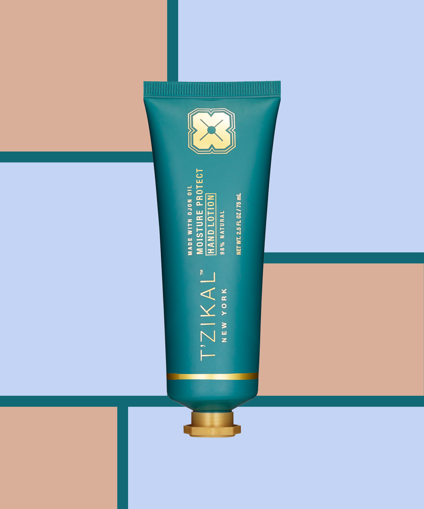 T'zikal All Natural Hand Lotion Recommended by Refinery29