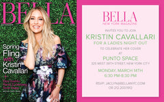 Bella Cover Party Girls Night Out hosted by Kristin Cavallari