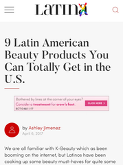 9 Latin American Beauty Products You Can Totally Get in the U.S.