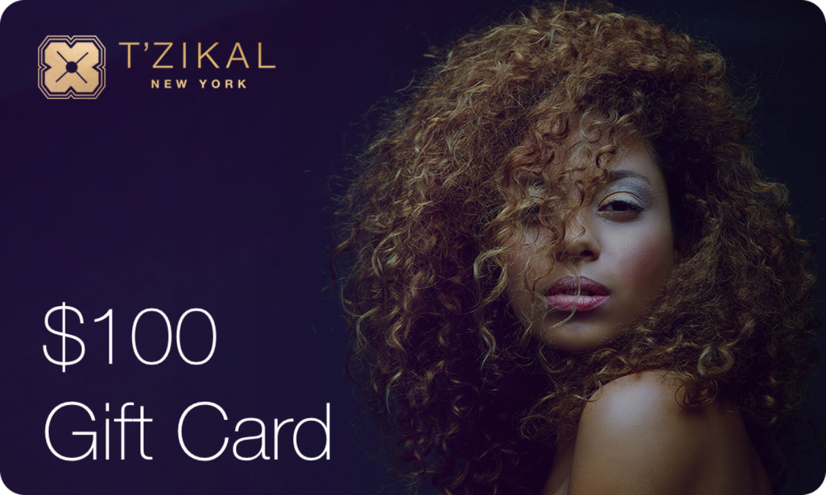 T'zikal Beauty Electronic Gift Card Value $100;- USD