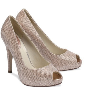 Sparkle Shoes Champagne