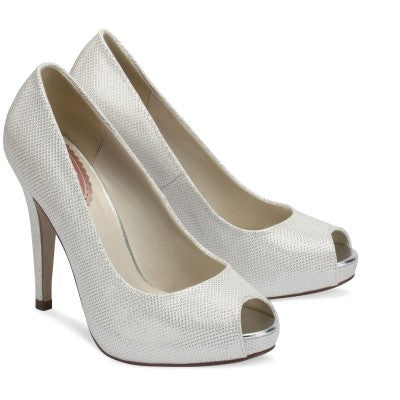 Sparkle Shoes Ivory