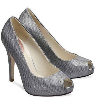 Sparkle Shoes Silver