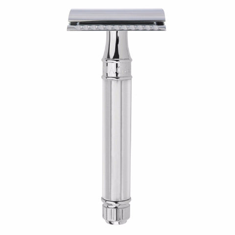 Edwin Jagger Octagonal Handle Chrome Razor -DE89811