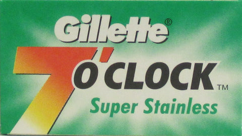 GILLETTE SUPER STAINLESS Double Edge Razor Blades